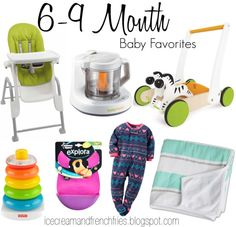 6-9 Baby MONTH FAVORITES
