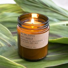 NEW! NO. 26: COPAL - SOY CANDLE                         – P.F. Candle Co.