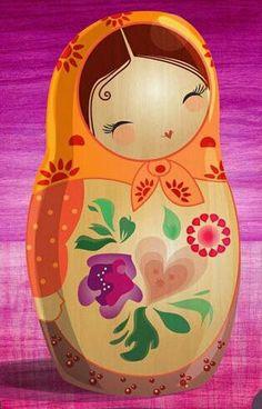 Baboesjka - Matroesjka - Russian doll