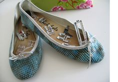 Learn about your sewing machine feet.