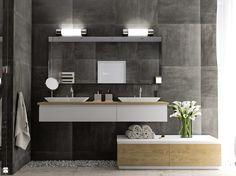 Kurs - Archicad - Artlantis - Wykonanie wizualizacji łazienki - zdjęcie od CGwisdom.pl - Łazienka - Styl Nowoczesny - CGwisdom.pl