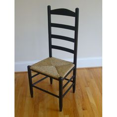 Black Ladder Back Chair Side Chairs Dining Chairs Kitchen & Dining Furniture