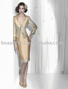 AGB Two Button Suit Jacket & Box Pleat Skirt - Womens Suits & Suit ...