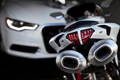 Ducati and Audi  :)
