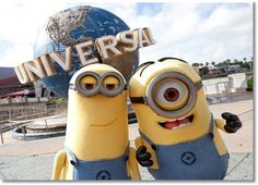 Minion's take over Universal Orlando Resort We love going to theme parks and with our Florida Resident annual pass, we have made several visits to Universal Studios and Islands of Adventure t… Universal Orlando, Universal Studios Florida, Disney Universal Studios, Orlando Florida, Orlando Parks, Orlando Vacation, Orlando Usa, Orlando Resorts, Parque Universal