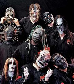 Slipknot is an American alternative/nu metal band from Des Moines, Iowa. Formed in 1995, the group was founded by percussionist Shawn Crahan and bassist Paul Gray. After several lineup changes in their early days, the band consisted of nine members for the greater part of their tenure: Sid Wilson, Paul Gray, Joey Jordison, Chris Fehn, Jim Root, Craig Jones, Shawn Crahan, Mick Thomson, and Corey Taylor.