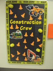Construction Theme Classroom Welcome to the Carpenter crew!