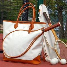 Park Luxury Tennis Bags are beautiful and functional in equal measure. Made from luxurious Italian coated canvas and leather. These tennis bags are a must have for any avid tennis player. Beach Tennis, Tennis Bags, Fight Or Flight, Badminton, Tennis Players, Exercise, Tote Bag, Workout, Park