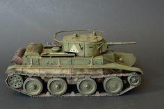 1/35 Soviet BT-5 Light Tank Built/Handmade by MikBScaleModels