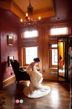 Karen Feder Photography Van Dusen Mansion wedding