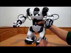 Robosapien X Demo by WowWee toys - YouTube