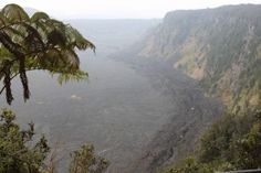 On the Rim of Kilauea