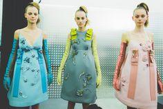 Prada Fall 2015 RTW Backstage – Vogue