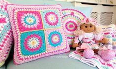 Starry Sun Pillow Cr