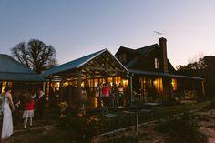 Dusk settles on Roberts Restaurant Circa 1876 in the Hunter Valley   PHOTO CREDIT: Cavanagh Photography   @cavanaghphotog