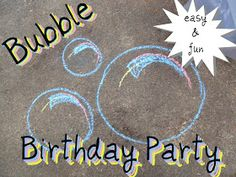 easy and fun ideas for a bubble birthday party Bear Birthday, 4th Birthday, Birthday Wishes, Birthday Board, Birthday Nails, Bubble Birthday Parties, Birthday Party Themes, Birthday Ideas, Bubble Bash