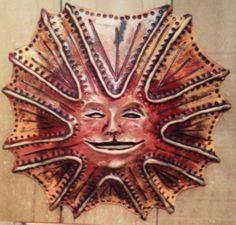 Strange sun face; artist, glenda coley