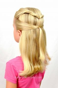 Biracial hairstyle