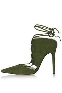 GILLIAN Ghillie Court Shoes