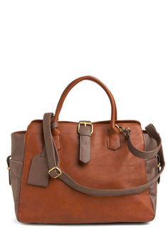 Iced Coffee Couture Handbag from Modcloth $59.99 Love the inner lining on this one.