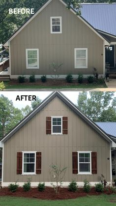 How to Make Cedar Shutters Wooden Shutters Exterior, Outdoor Window Shutters, Cedar Shutters, Diy Shutters, House Paint Exterior, Exterior House Colors, Houses With Shutters, Cottage Shutters, Farmhouse Shutters