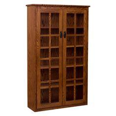 Bookcase w/ Glass - OFAWB0002P0