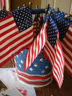 my blessed life: Fun With 4th of July Crafts: Part 1