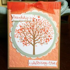 Krystal's Cards: Stampin' Up! Sheltering Tree Challenges + FREE SHIPPING!! #stampinup #krystals_cards #shelteringtree #PPA246 #JAI257 #handstamped #papercrafts #cardmaking
