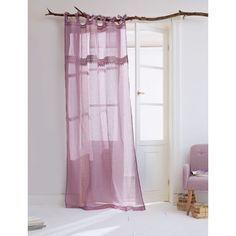 Leinen-Vorhang-Set mit Spitze, 2-tlg. Katalogbild                                                                                                                                                      Mehr