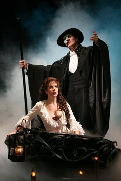 Hugh Panaro and Sandra Joseph