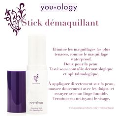 Younique You ology - stick démaquillant Mascara Waterproof, Lotion, Nail Polish, Make Up, Lipstick, Products, Other, Lipsticks, Makeup