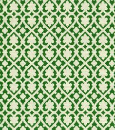 Home Decor Print Fabric Waverly Soul Mate Jade Hi Res