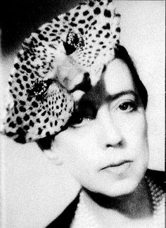 "Leopard Hat From ""Elsa Schiaparelli"" by Francois Baudot Photo by Piaz, from the private collection of Marquise Cacciapuoti."