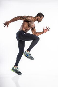 Fitness Model / Athlete photoshoot in the studio.