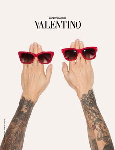 Valentino for Terry Richardson. I enjoyed this shot because it's simple, shows Richardsons talent and how well liked and used he is for fashion today.