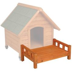 Ware Manufacturing Fir Wood Premium Plus A-Frame Doghouse Patio, Medium - http://www.thepuppy.org/ware-manufacturing-fir-wood-premium-plus-a-frame-doghouse-patio-medium/