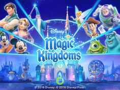 Disney Magic Kingdoms from Gameloft - this game is my new obsession!!