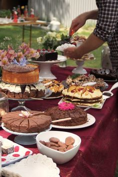 I always make cakes, marmalade and jam to sell at the Summer fayre to raise funds for the village school our grandson attends