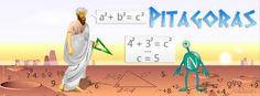 Pitágoras con su escuela quien, a partir del siglo VI a.C. afirmará estas cosas de manera explícita comenzando a estrechar los vínculos entre cosmología, matemáticas, ciencia natural y estética.