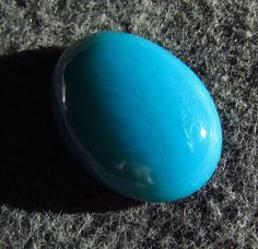 Rare Natural Turquoise Blue Gem Silica Chrysocolla Ray mine Arizona Oval Cab Gem #JewelsRoughGems