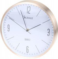 Zegar ścienny Erre - złoty