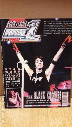 POPULAR 1. 309 / JULIO 1999 / THE BLACK CROWES / KORN & ROB ZOMBIE / MINISTRY / Y OTROS.