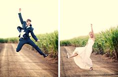 jumping shots. I love this wedding! #weddingphotoshoot #photo #shoot