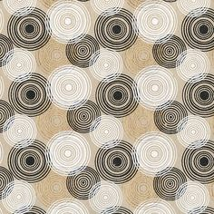 Circles, circles and more circles in a variety of styles, sizes and colors silk screened on 100% recycled cotton paper.