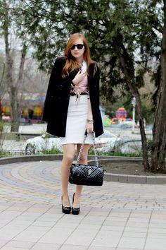 Zara Coat, Tosca Blu Bag, Guess? Watch   Lady (by Viktoriya Azaryanskaya)   LOOKBOOK.nu