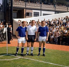 Stock Photo - Fulham v Everton League match at Craven Cottage Three world cup players L-R: Alan Ball, George Cohen and Ray Wilson August 1966 Football Music, Retro Football, Football Program, Sport Football, Jules Rimet Trophy, Chris Waddle, Fulham Fc, Bristol Rovers, World Cup Winners