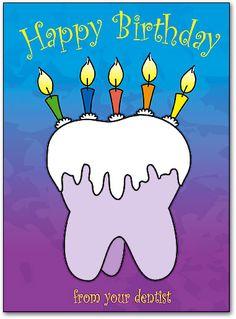 Resultado de imagen para happy birthday dentist images