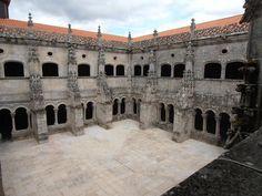 Monastère de Santo Estuvo autre cours intérieure