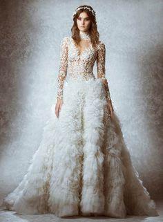 vestidos de boda  modelos extravagantes