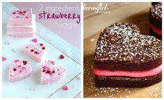 the tomkat studios-valentines heart desserts:14 days of sweet valintine ideas